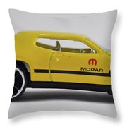 Plymouth Road Runner Throw Pillow