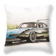 Plymouth Superbird 1970 Throw Pillow