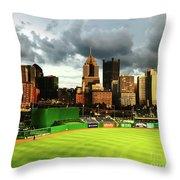 Pnc Park  Throw Pillow