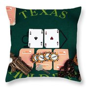 Pocket Rockets Throw Pillow