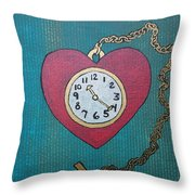 Pocketwatch Throw Pillow