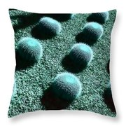Pods Throw Pillow
