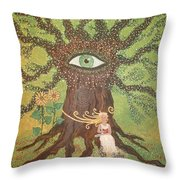 Poetry And Precious Moments Of Bliss. Throw Pillow