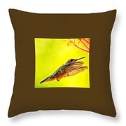 Poetry In Motion Throw Pillow