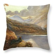 Poet's Rest Place Throw Pillow
