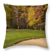 Pohick Green #1 Throw Pillow