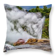 Pohutu 2 Throw Pillow