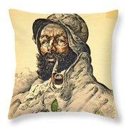 Poilu 1916 Throw Pillow