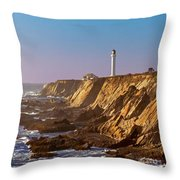 Point Arena Throw Pillow