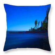 Point Betsie Lighthouse Throw Pillow