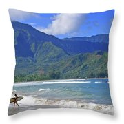 Point Break Throw Pillow