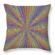 Point Counter Point Throw Pillow