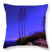 Point Fermin In Infrared Throw Pillow