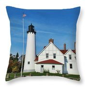 Point Iroquois Throw Pillow
