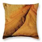 Point Lobos Abstract 108 Throw Pillow