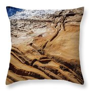 Point Lobos Abstract Throw Pillow