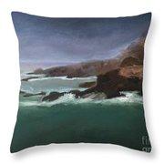 Point Lobos Monterey Throw Pillow