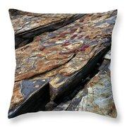 Point Lobos Rock 1 Throw Pillow