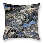 Point Lobos Rock 4 Throw Pillow