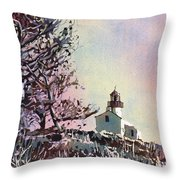 Point Loma Lighthouse- San Diego Throw Pillow