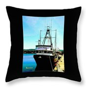 Point Made At Pt Townsend Wa Throw Pillow