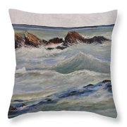Point Of Action Throw Pillow