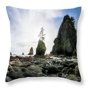 Point Of The Arches 4 Throw Pillow