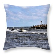 Point Pleasant New Jersey Throw Pillow
