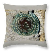 Point Reyes East Throw Pillow
