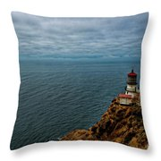 Point Reyes Lighthouse Throw Pillow