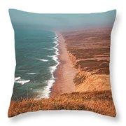 Point Reyes National Seashore Throw Pillow