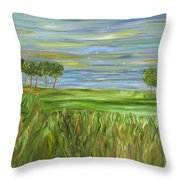 Point St. Francis Throw Pillow