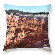 Point Supreme - Cedar Breaks Throw Pillow