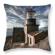 Point Sur Lighthouse - California  Throw Pillow