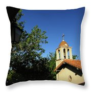 Pointing The Way Throw Pillow