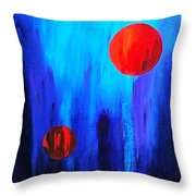Points Of Interest  Throw Pillow