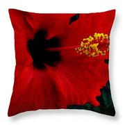 Poison Passion And Seduction Throw Pillow
