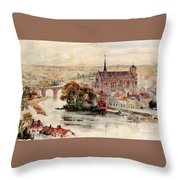 Poitiers Throw Pillow