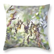 Pokeberry Light Throw Pillow