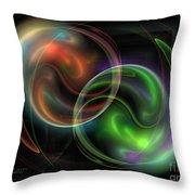 Polarity Throw Pillow
