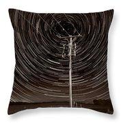 Pole Star Throw Pillow