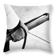 Police Nightstick Throw Pillow