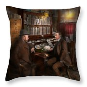 Police - The Private Eye - 1902  Throw Pillow