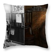 Police - The Private Eye - 1902 - Side By Side Throw Pillow