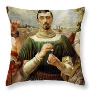 Polish Hamlet  Throw Pillow