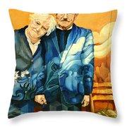 Polish Immigrants Throw Pillow