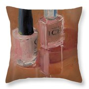 Polished Duo Throw Pillow