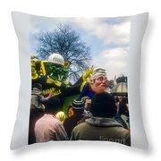 Polizei Throw Pillow