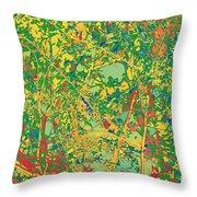 Pollack Green Throw Pillow