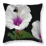 Pollen Overload Throw Pillow